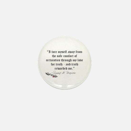 Truth Quote Mini Button