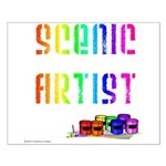 Scenic Artist Small Poster