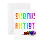 Scenic Artist Greeting Cards (Pk of 10)