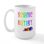Scenic Artist Large Mug