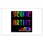 Scenic Artist Large Poster
