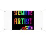 Scenic Artist Banner