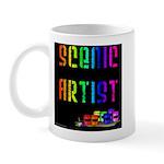 Scenic Artist Mug