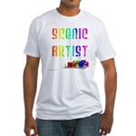 Scenic Artist Fitted T-Shirt