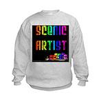 Scenic Artist Kids Sweatshirt