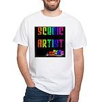 Scenic Artist White T-Shirt