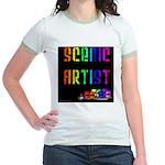 Scenic Artist Jr. Ringer T-Shirt
