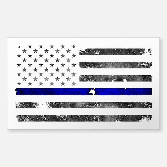 Thin Blue Line - Blue Lives Matter Decal