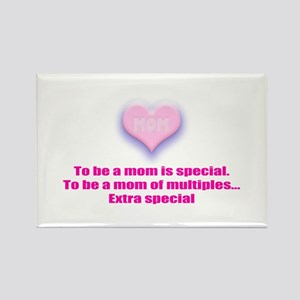 Mom of Multiples Extra Speci Rectangle Magnet