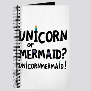Unicorn or Mermaid C2f4x Journal