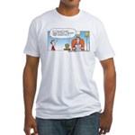 Money Tree Fitted T-Shirt