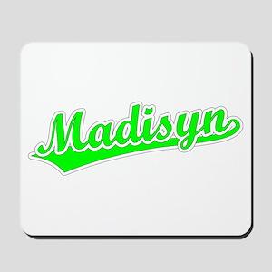 Retro Madisyn (Green) Mousepad