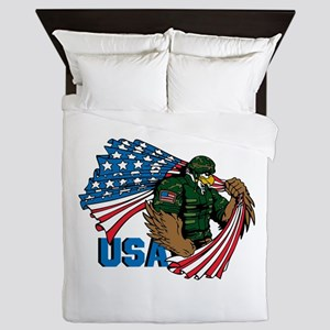 USA Queen Duvet