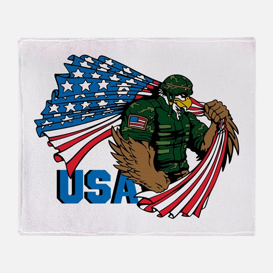 USA Throw Blanket
