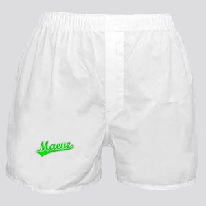 Retro Maeve (Green) Boxer Shorts