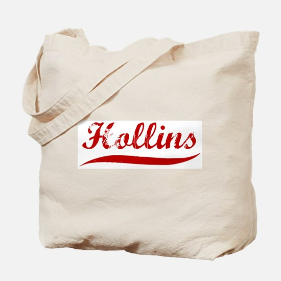 Hollins (red vintage) Tote Bag