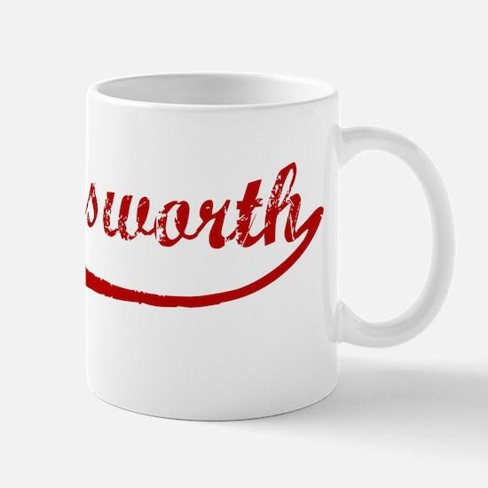 Hollingsworth (red vintage) Mug