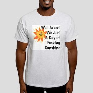 Ray of Sunshine Ash Grey T-Shirt
