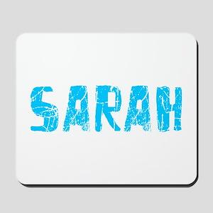 Sarah Faded (Blue) Mousepad