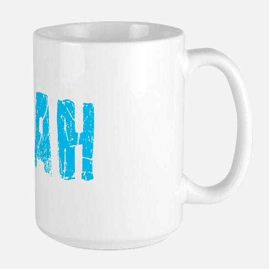 Sarah Faded (Blue) Large Mug
