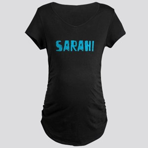 Sarahi Faded (Blue) Maternity Dark T-Shirt