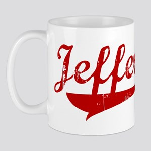 Jeffery (red vintage) Mug