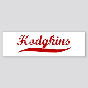 Hodgkins (red vintage) Bumper Sticker
