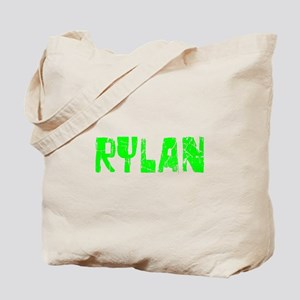 Rylan Faded (Green) Tote Bag