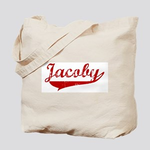 Jacoby (red vintage) Tote Bag