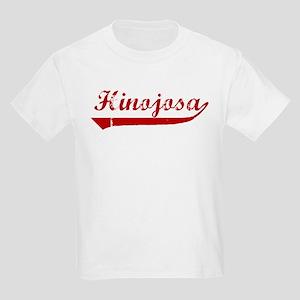 Hinojosa (red vintage) Kids Light T-Shirt