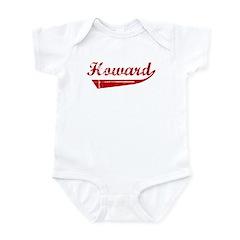 Howard (red vintage) Infant Bodysuit