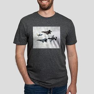 60 Years Flight Ash Grey T-Shirt