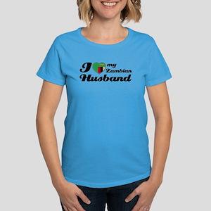 I love my Zambian Husband Women's Dark T-Shirt