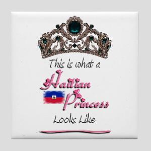 Haitian Princess - Tile Coaster