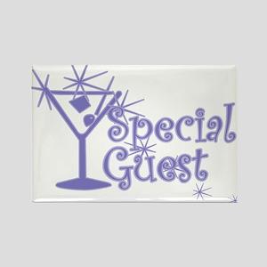 Indigo C Martini Special Guest Rectangle Magnet