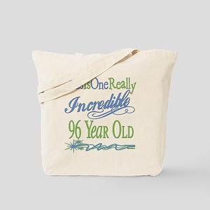 Incredible 96th Tote Bag