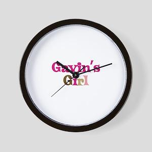 Gavin's Girl Wall Clock