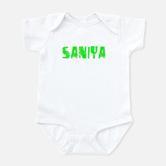 Saniya Faded (Green) Infant Bodysuit