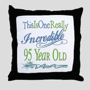 Incredible 105th Throw Pillow