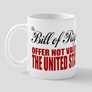 Bill of Rights (Not Valid) Mug