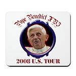 Pope Benedict XVI 2008 U.S. Tour Mousepad