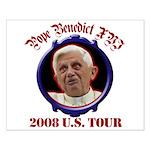 Pope Benedict XVI 2008 U.S. Tour Small Poster