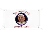 Pope Benedict XVI 2008 U.S. Tour Banner