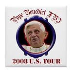 Pope Benedict XVI 2008 U.S. Tour Tile Coaster