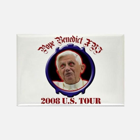 Pope Benedict XVI 2008 U.S. Tour Rectangle Magnet