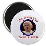 Pope Benedict XVI 2008 U.S. Tour Magnet