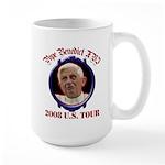 Pope Benedict XVI 2008 U.S. Tour Large Mug