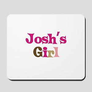Josh's Girl Mousepad