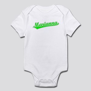 Retro Marianna (Green) Infant Bodysuit
