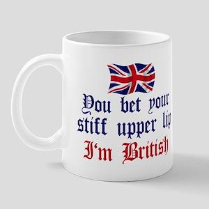 Brit-Stiff Upper Lip Mug